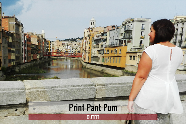 Print Pant Pum · Outfit