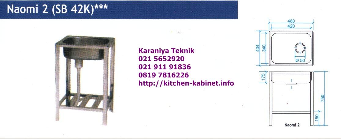Harga kitchen sink portable images for Kitchen set royal