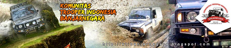 Komunitas Trooper Indonesia Banjarnegara