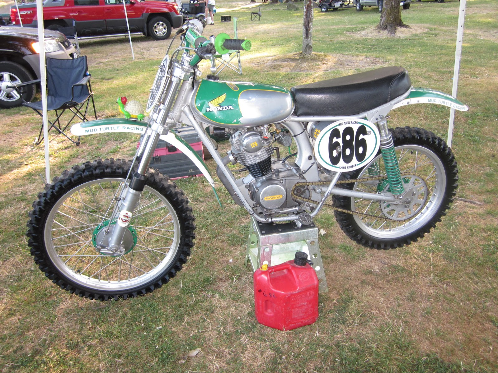 vintage motocross part
