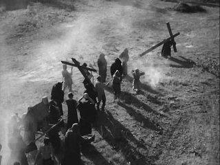 The Flagellants Imitate the Dance of Death, The Seventh Seal, directed by Ingmar Bergman