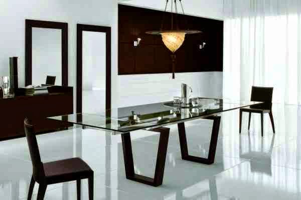 15 Charming black and white dining room designs and furniture in
