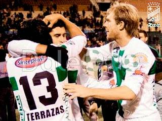 Oriente Petrolero - Diego Terrazas - Ronald Rea - Alejandro Schiapparelli - Oriente Petrolero 2010 - DaleOoo.com página del Club Oriente Petrolero