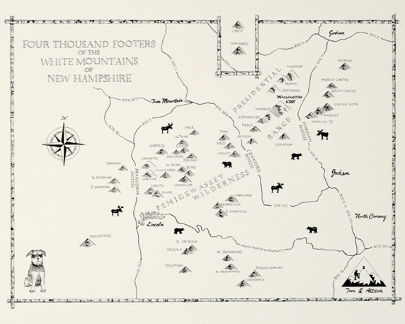 The Adventures Of Tom Amp Atticus 4000Footer Map For