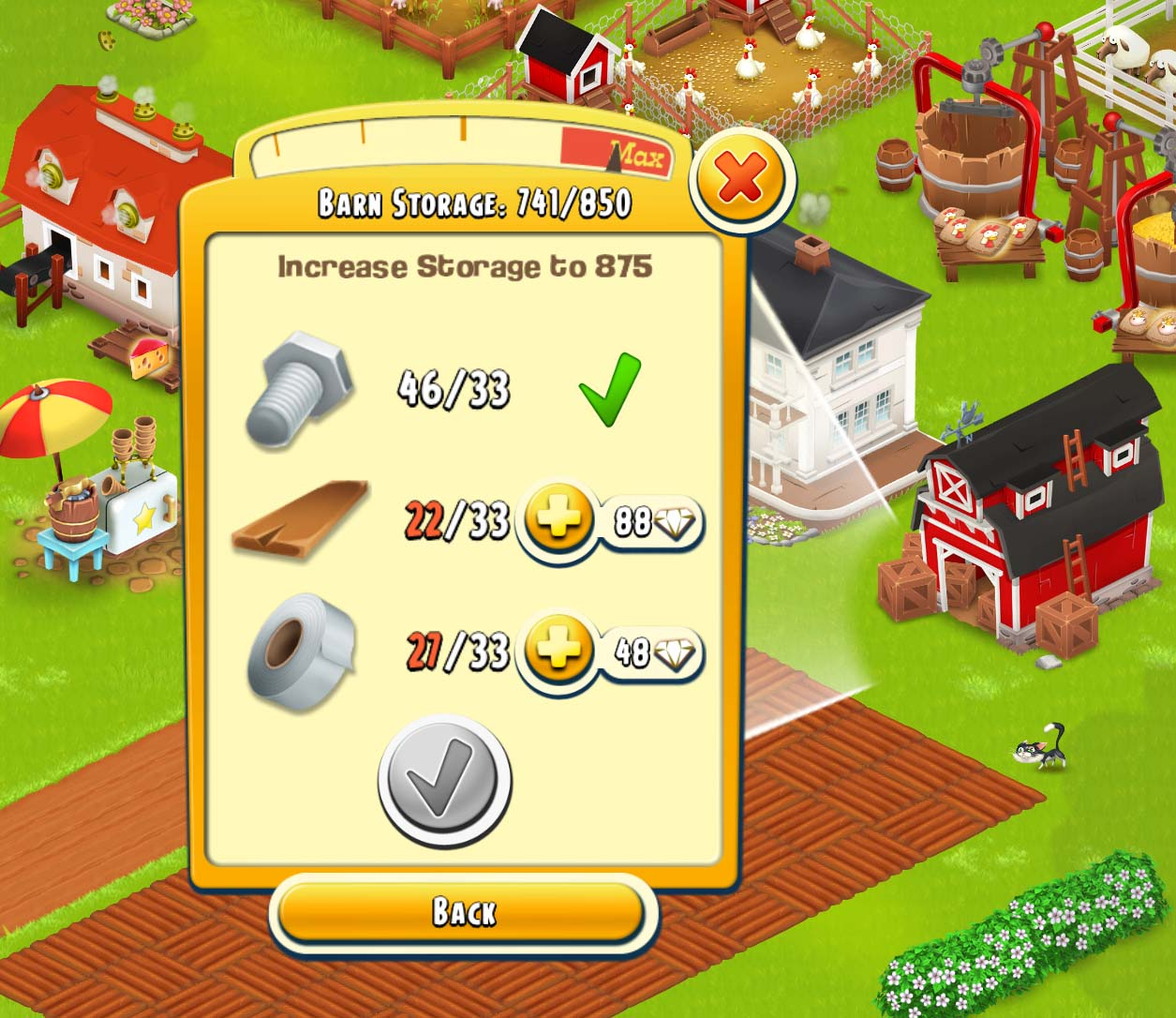 Hay Day Get Building Supplies
