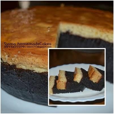 kek coklat karemel RM 65.00