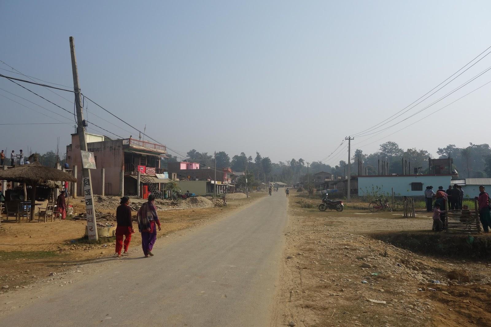 Au Népal maggie chez les adolescentes