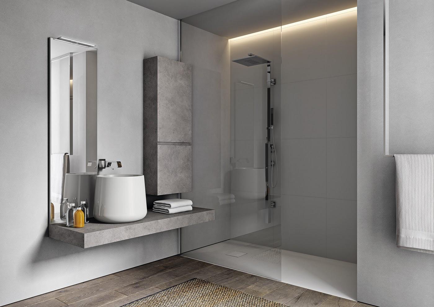 Progettando il bagno - Posizione sanitari bagno ...