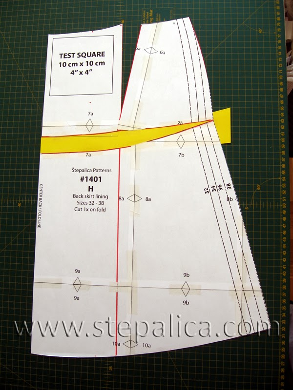 Zlata skirt sewalong: #4 Fitting alterations for protruding rear