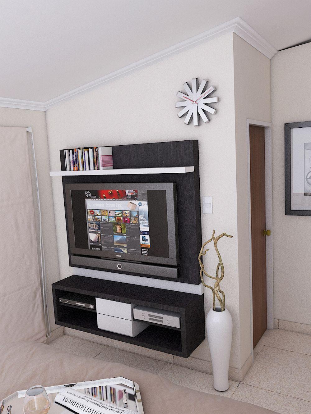 Arq carlos j martinez g interiorismo interior for Habitacion familiar en once