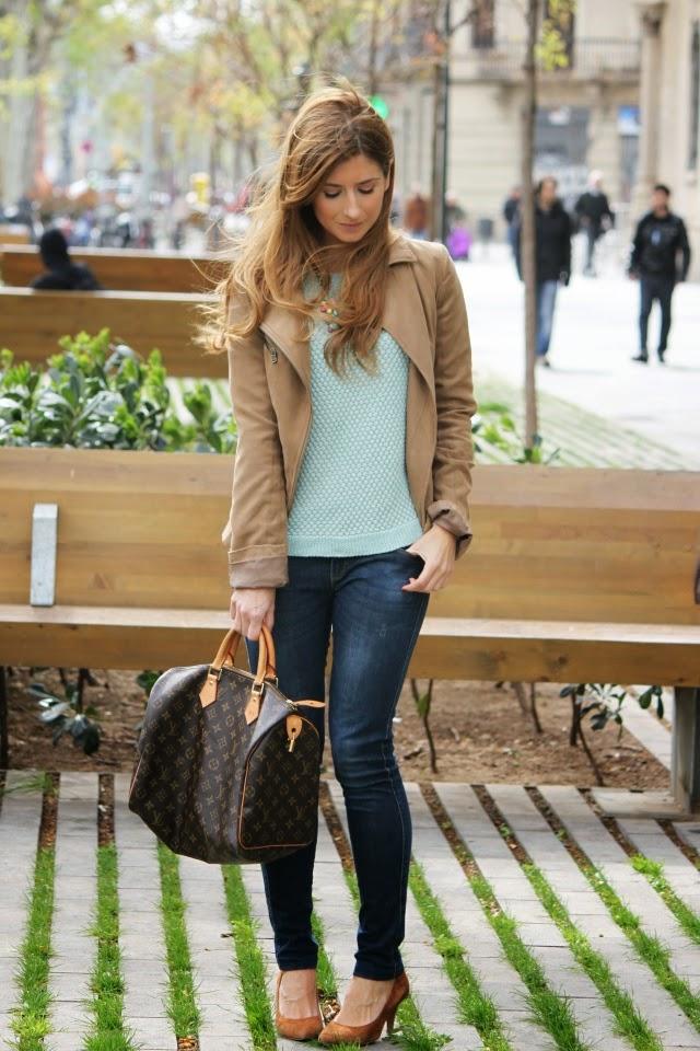 Blog de moda y lifestyle speedy louis vuitton biker camel - Rebeca labara ...