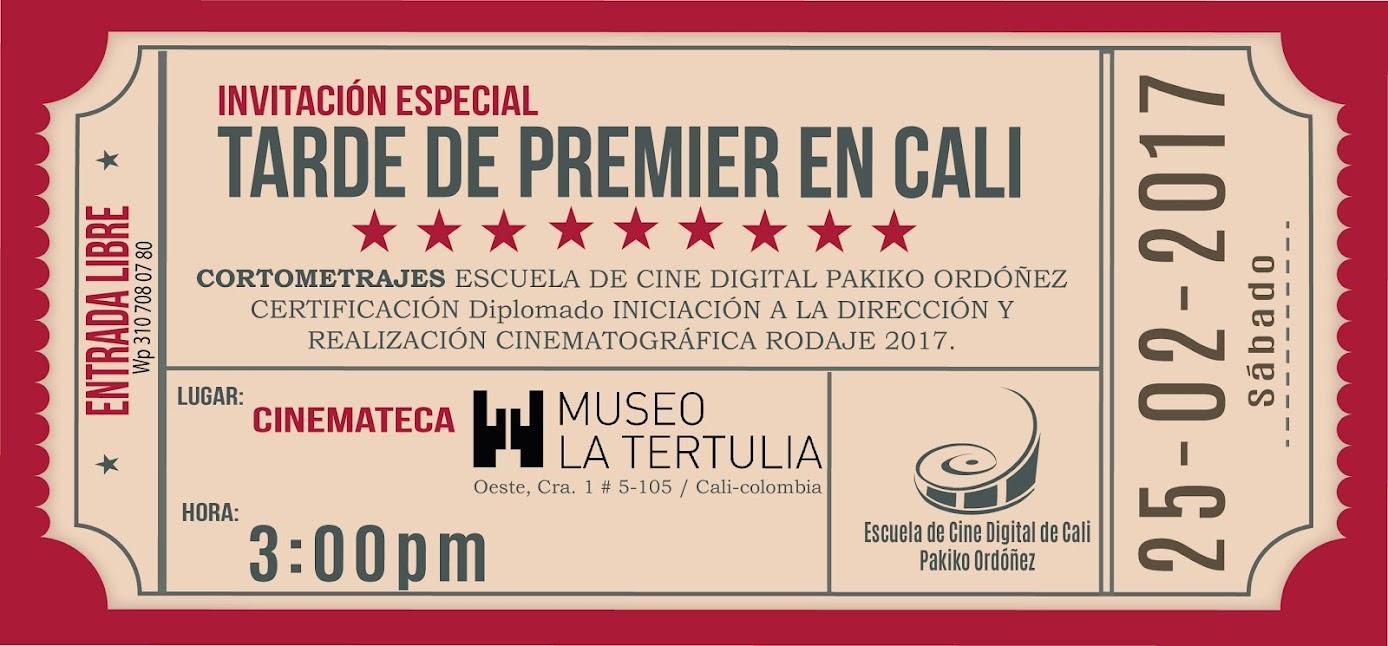 En CALI. Escuela de Cine PakikOrdóñez. Patrimonio Cultural de Colombia.
