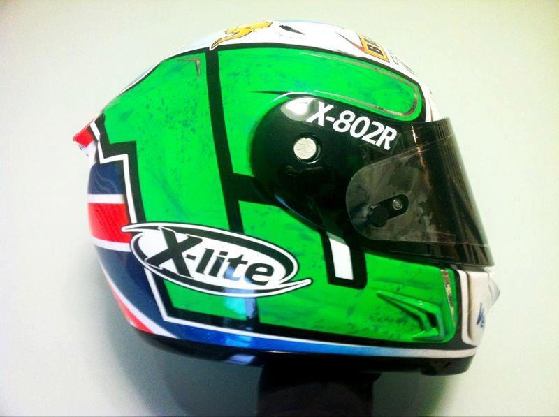 racing helmets garage x lite x 802r m baiocco 2013 by. Black Bedroom Furniture Sets. Home Design Ideas