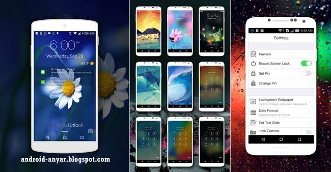Aplikasi Kunci Layar Android LockScreen Mirip Apple iPhone Gratis