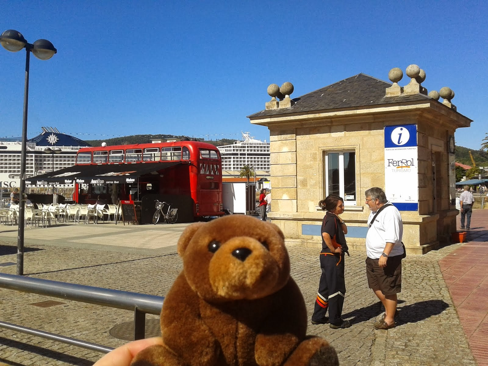 Teddy Bear in Ferrol, Spain