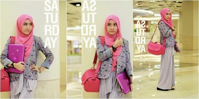 Busana Hijab Kuliah Untuk Wanita Aktif