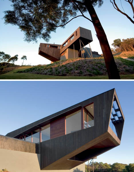 Cantilever house blog o ben for House structure design