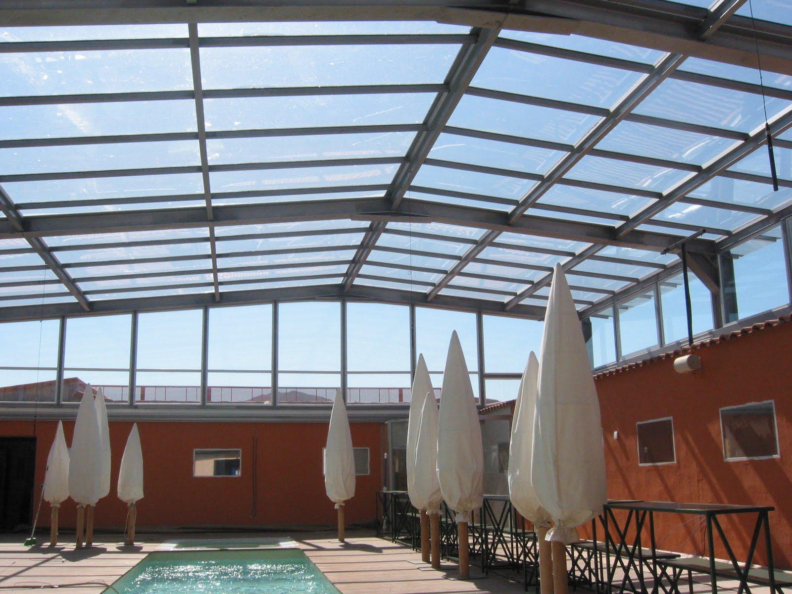 Estructura de hierro tratamiento marino para techo fijo for Estructuras de hierro para casas