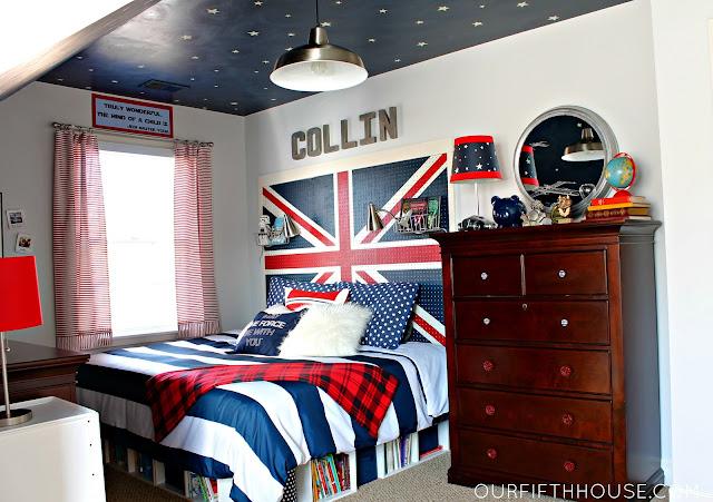 union jack bed