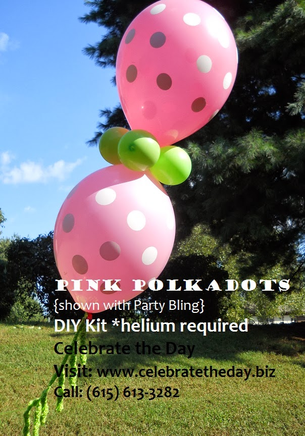 Polka Dot Balloon Decor
