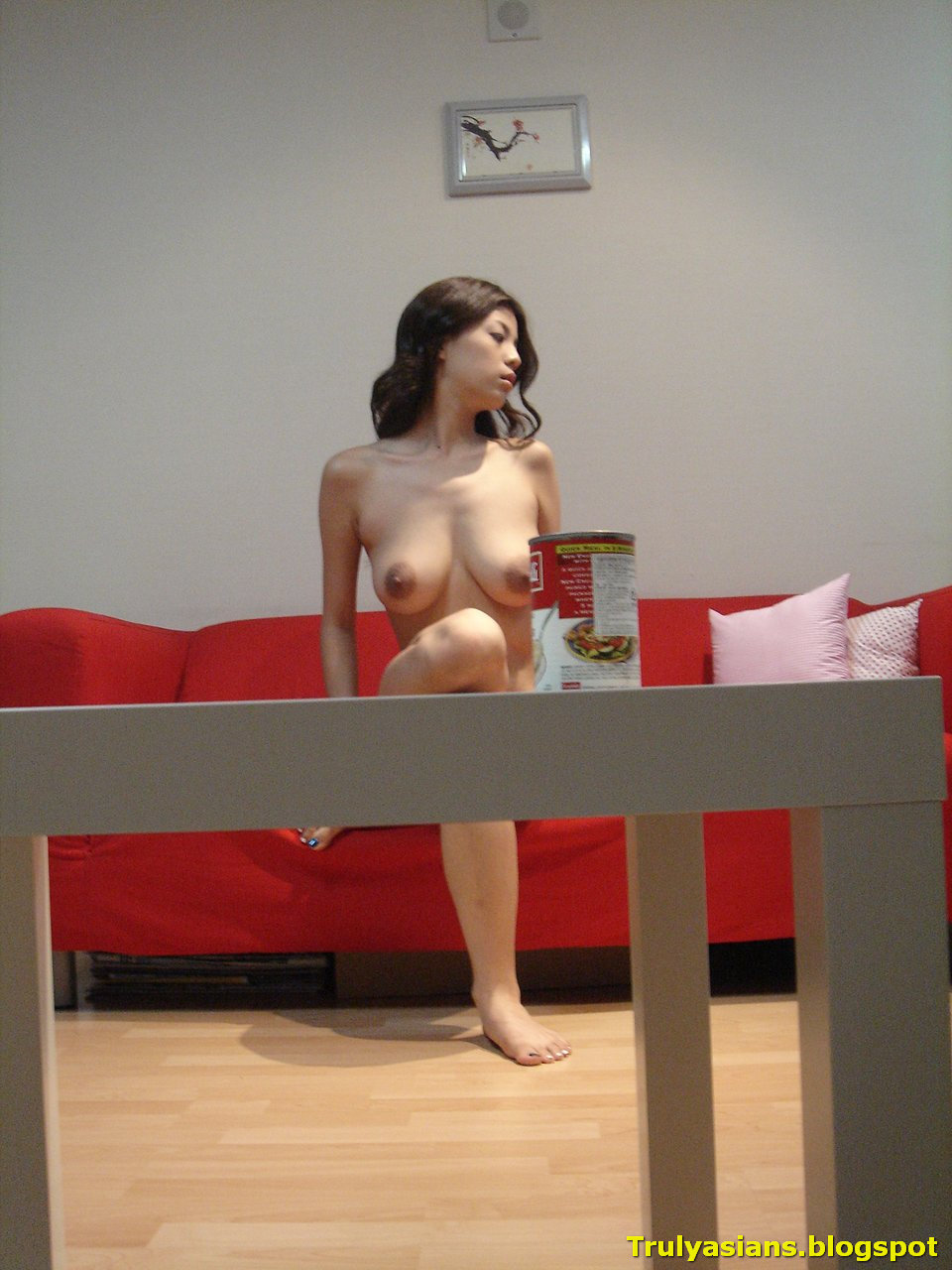 servant nude at home in korea