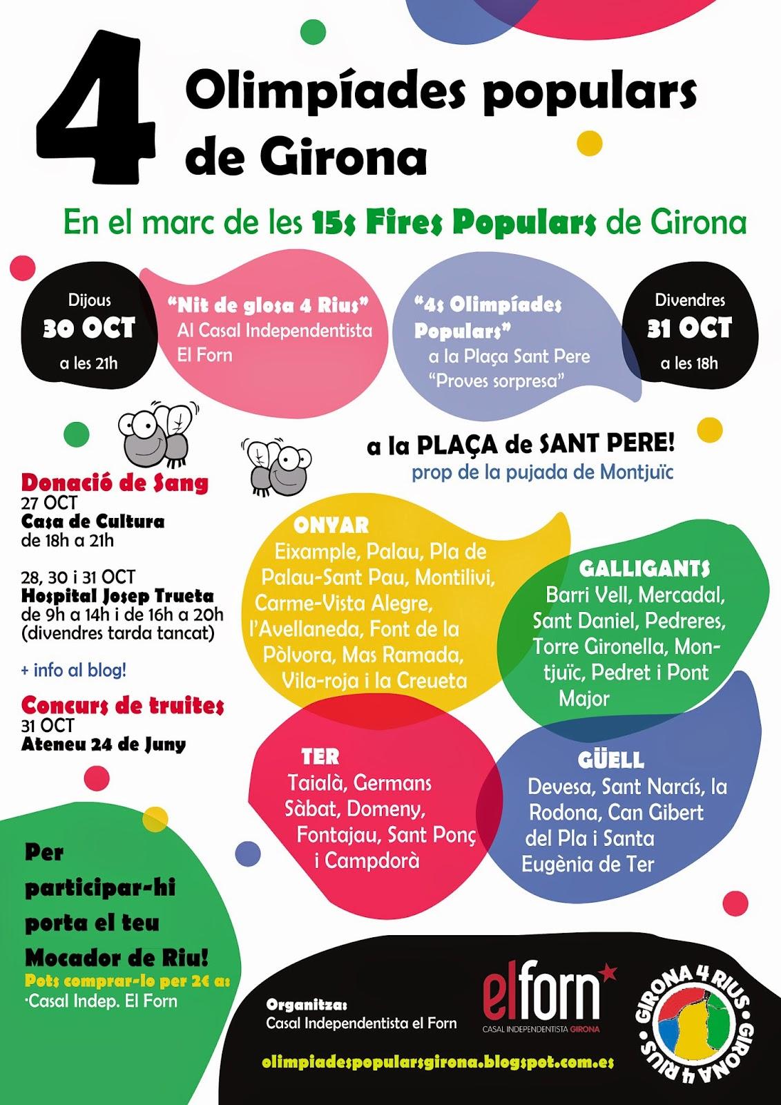 15 Fires populars Girona