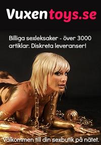 Min sponsor Vuxentoys.se - Billiga sexleksaker