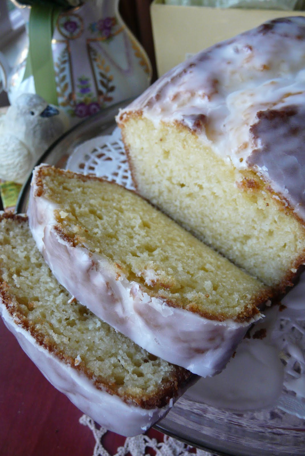 Barefoot Contessa Lemon Poppyseed Pound Cake