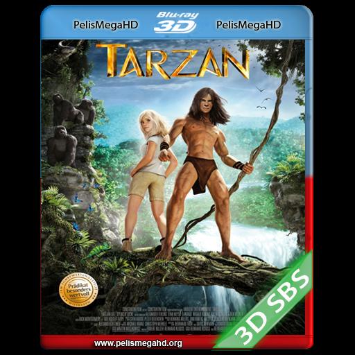 TARZÁN: LA LEYENDA COBRA VIDA (2013) FULL 3D SBS 1080P HD MKV ESPAÑOL LATINO
