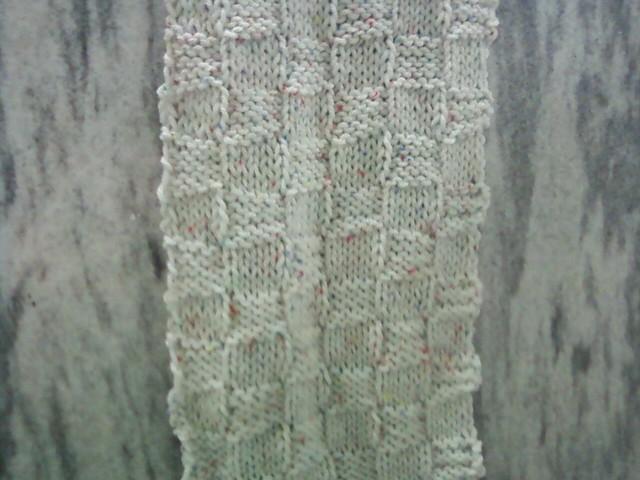 Checkerboard Texture Scarf