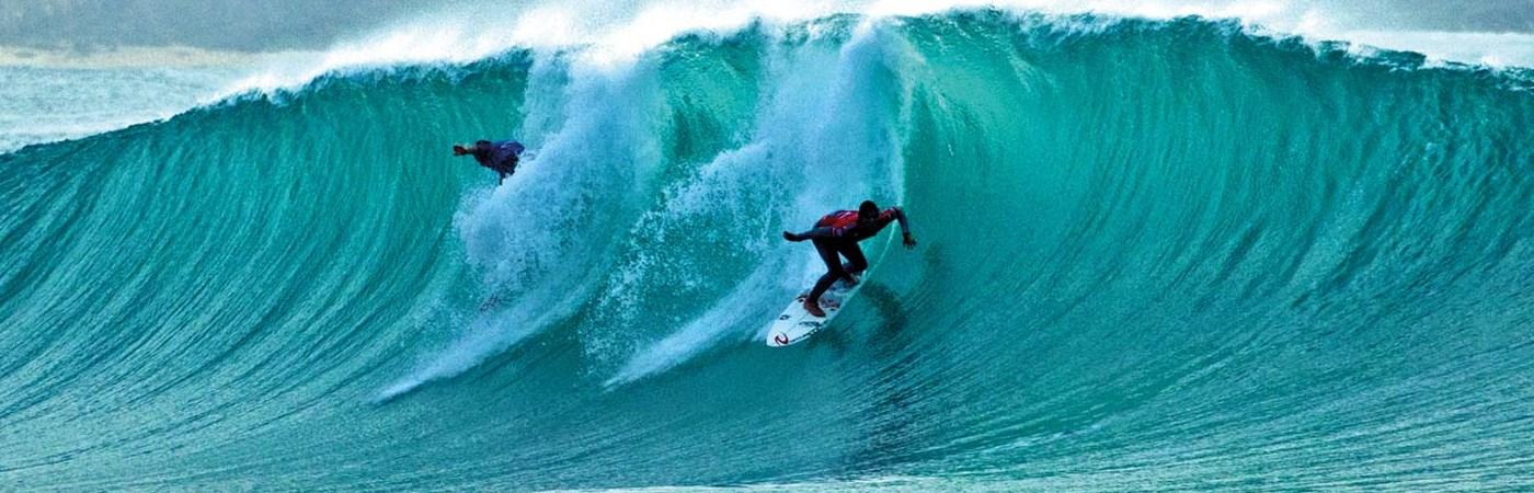 Surf at the Silver Coast