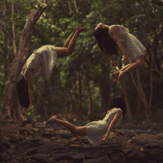 Kylie Woon fotografia photoshop surreal solidão melancolia Caminhos do aprendizado