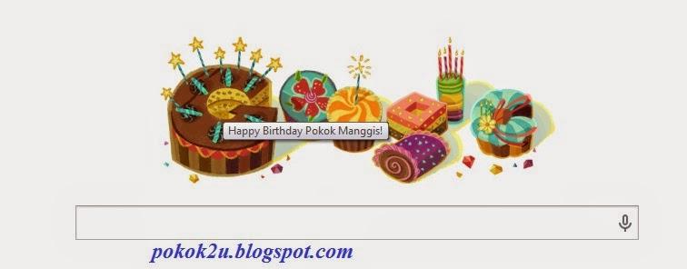Google Ucap Selamat Hari Lahir!!