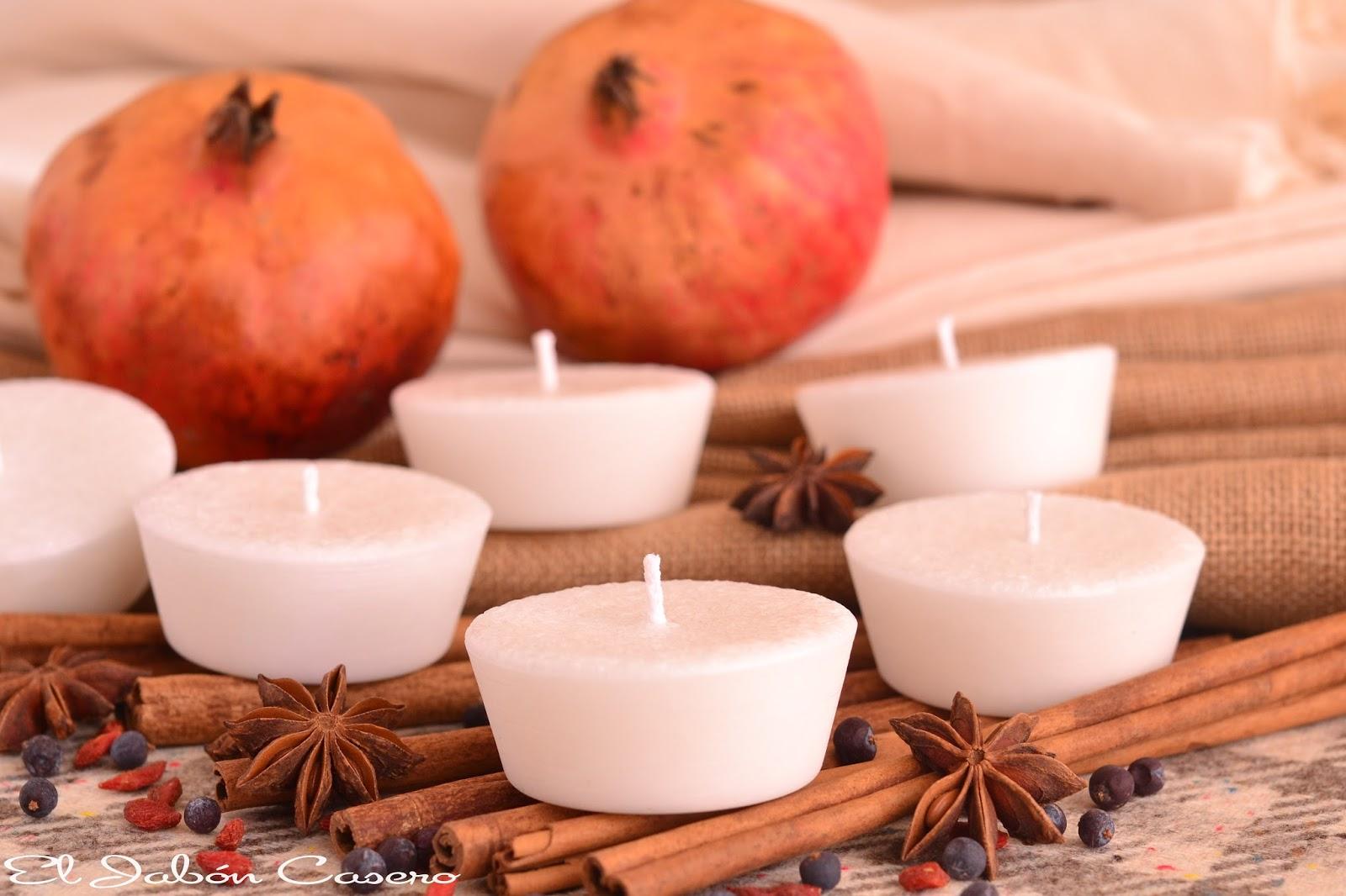 velas naturales perfumadas para detalles de boda