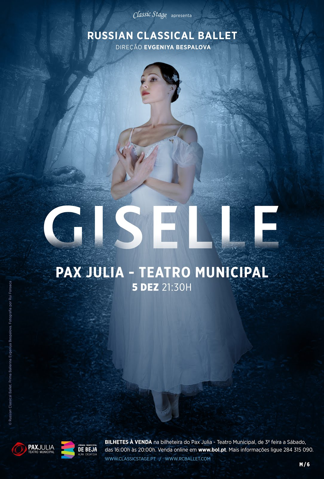 GISELLE pelo Russian Classical Ballet