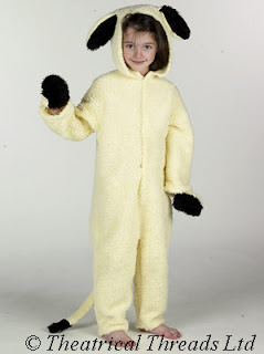 Lamb or Sheep Kids Nativity Play Costume from Theatrical Threads Ltd