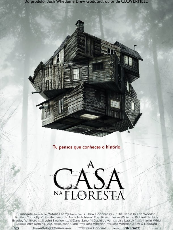 capa The Cabin in the Woods   A Casa na Floresta