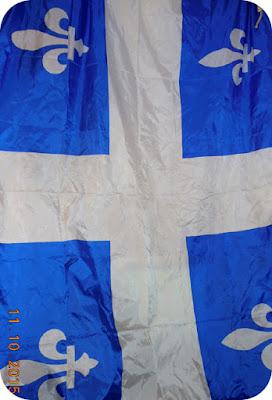 Quebec alb-albastru