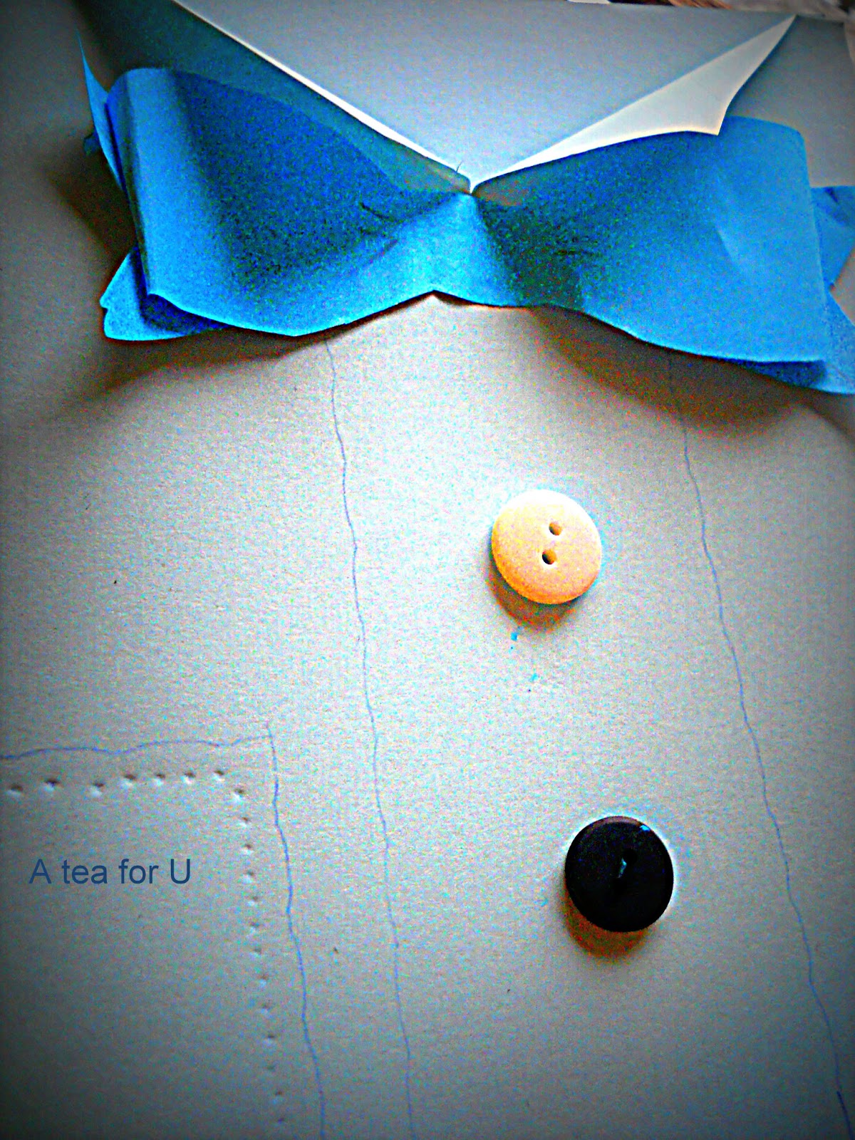 Un pap in camicia di carta a tea for u for Classica stoffa inglese
