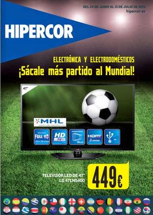 ofertas hipercor electro julio 2014