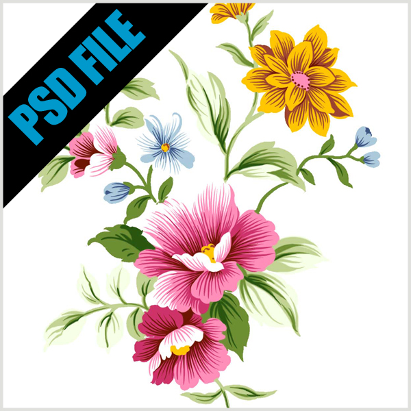 Anda Download Gratis Flower Dalam Format PSD. Somoga Bermanfaat