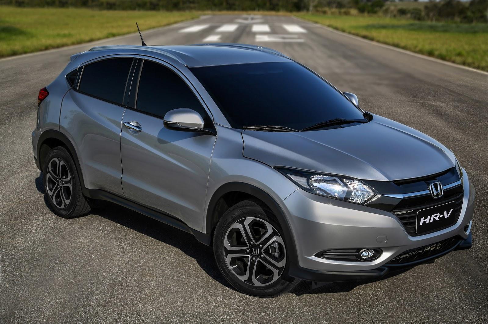 Honda S New Hr V Makes Its Brazilian Debut With 1 8l Flex