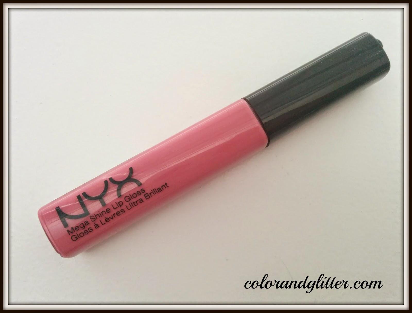 NYX Mega Shine Lip Gloss in Beige