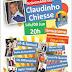 Convite para o aniversário do radialista Claudinho Chiesse