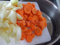 Supa crema de mazare preparare