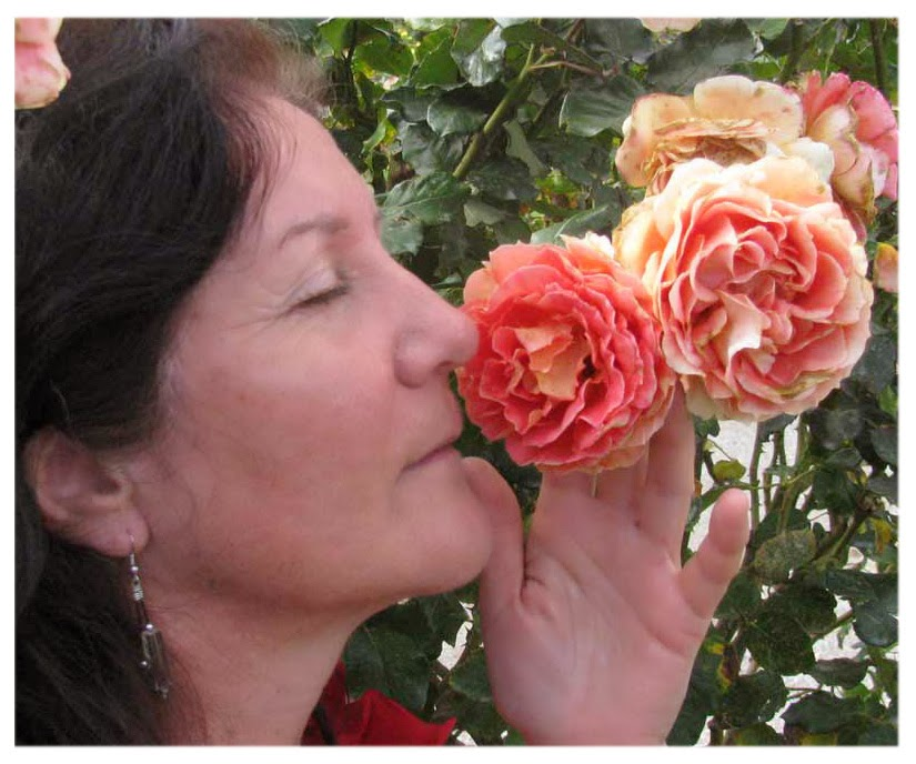 Maribel with Roses