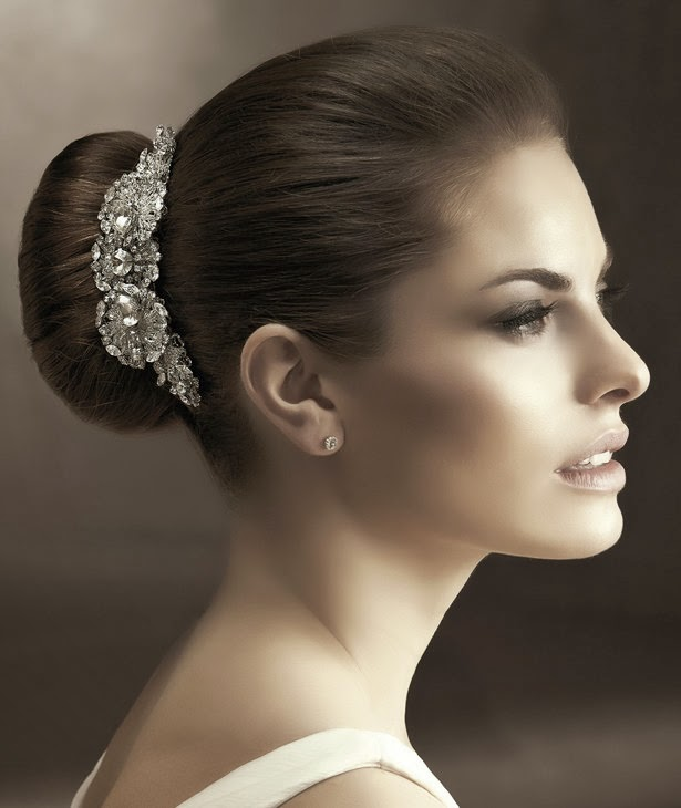 Bridal Crowns and Tiara from Wedding Hair Accessory Collection 2014