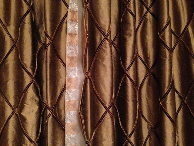 Diamond Anniversary, silk shantung, silk organza