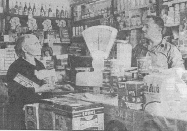 Παντοπωλείο τη δεκαετία του 50