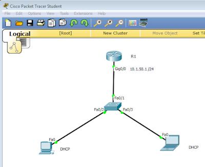 Cara Mudah Membuat Jaringan DHCP
